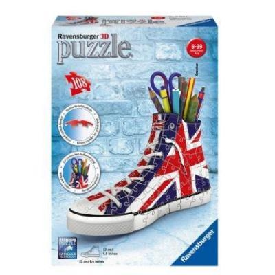 3D Puzzle 108 τεμ. Σταράκι UK Flag
