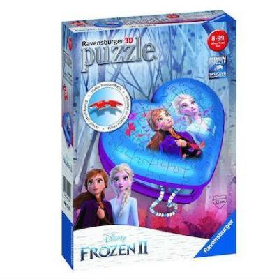 3D Puzzle 54 τεμ. Μπιζουτιέρα Ψυχρά & Ανάποδα 2