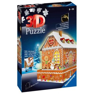 3D Puzzle Midi 216 τεμ. Gingerbread Σπιτάκι