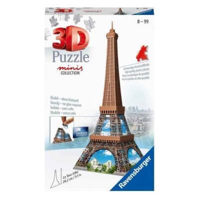 3D Puzzle Minis 54 τεμ Πύργος του Αιφελ