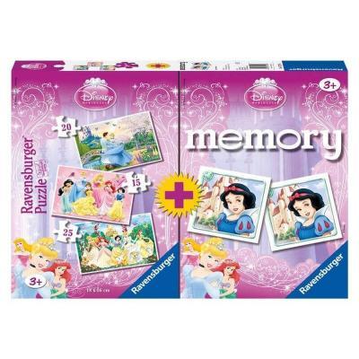 4 σε 1 Memory & Puzzle Princess