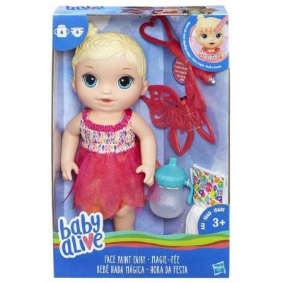 BABY ALIVE FACE PAINT FAIRY BLONDE – BABY ALIVE Αννούλα ζωγραφούλα