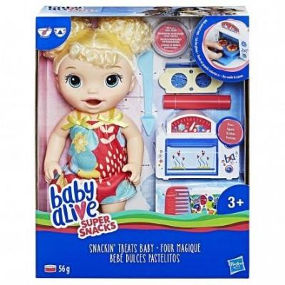 BABY ALIVE SNACKIN BABY BL