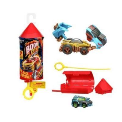 BOOM CITY RACERS S1 SINGLE PACK (CDU 12pcs) (1x όχημα, 1x εκτοξευτής)