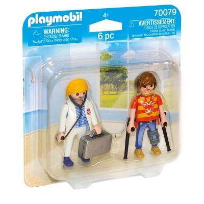 Duo Pack Γιατρός και ασθενής