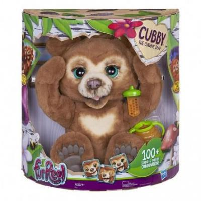 FURREAL CUBBY THE THE CURIUS BEAR