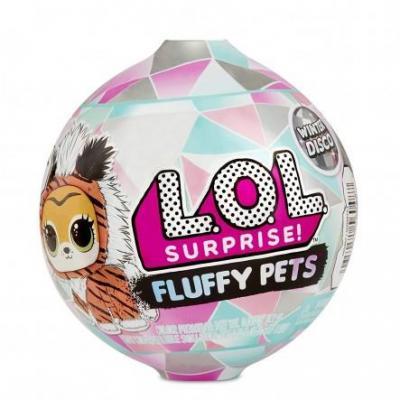 L.O.L. SURPRISE FLUFFY PETS S6 ΣΕ PDQ ΤΩΝ 16ΤΜΧ.