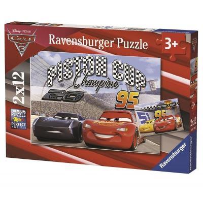 Παζλ 2X12τεμ Cars 3