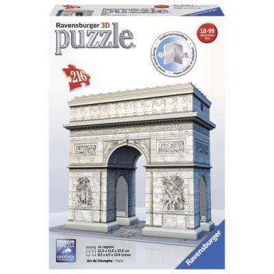 Παζλ 3D 216τμχ Αψίδα του Θριάμβου
