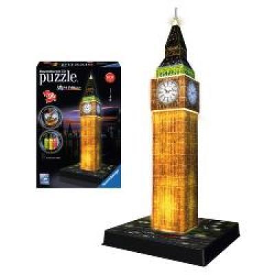 Παζλ 3D 216τμχ Big Ben Νυχτ.εκδοση