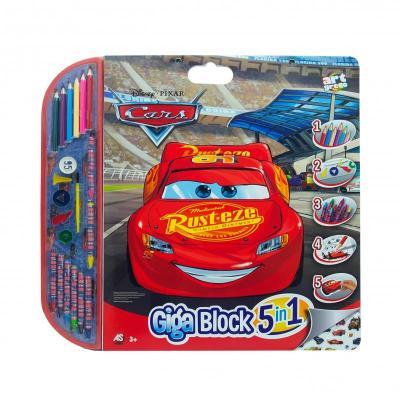 ΣΕΤ ΖΩΓΡΑΦΙΚΗΣ GIGA BLOCK 5 IN 1 CARS (62717)