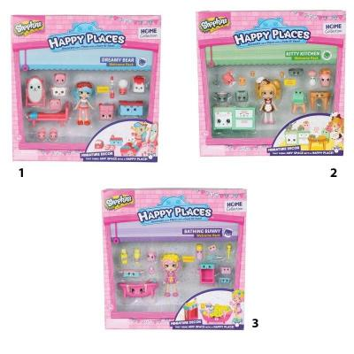 SHOPKINS HAPPY PLACES ΔΩΜΑΤΙΑΚΙΑ 3 ΣΧ. ASST