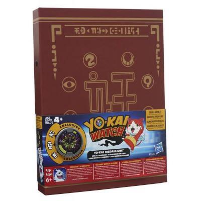 YO-KAI SEASON1 MEDALLIUM COLLECTION BOOK W 1 MEDAL